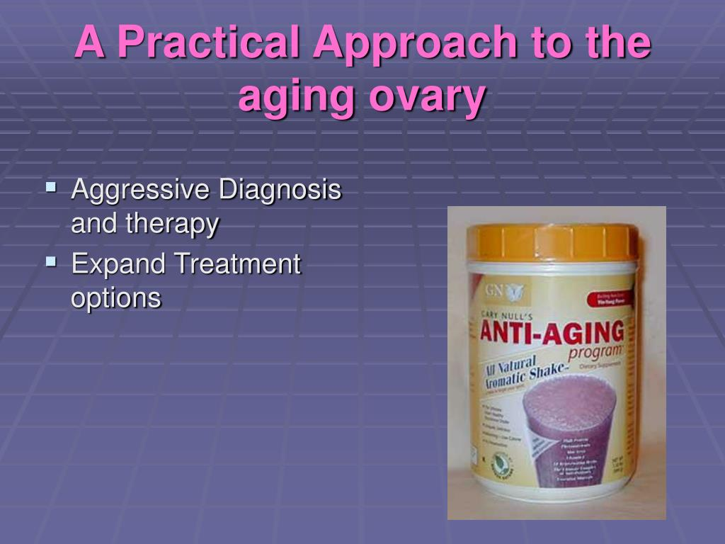 A Practical Approach to the aging ovary