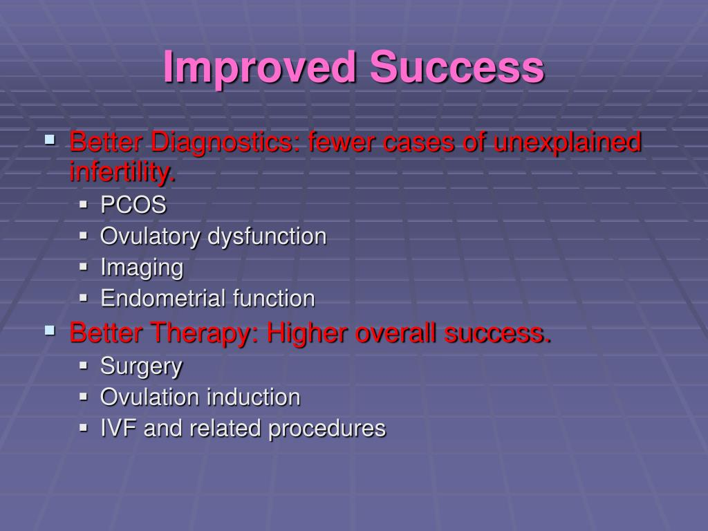 Improved Success
