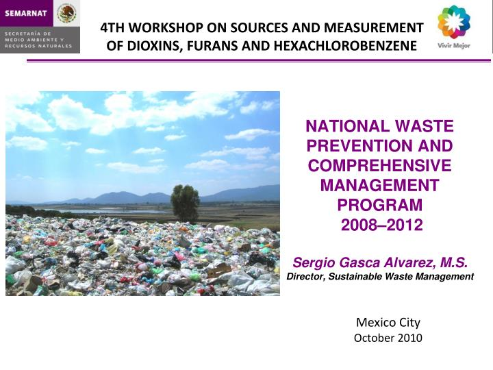 NATIONAL WASTE PREVENTION AND COMPREHENSIVE MANAGEMENT PROGRAM