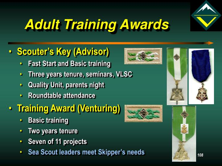 Adult Training Awards