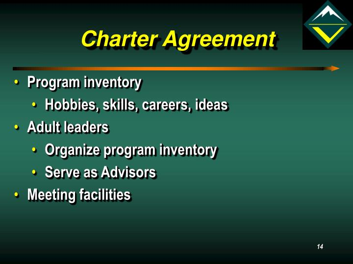 Charter Agreement