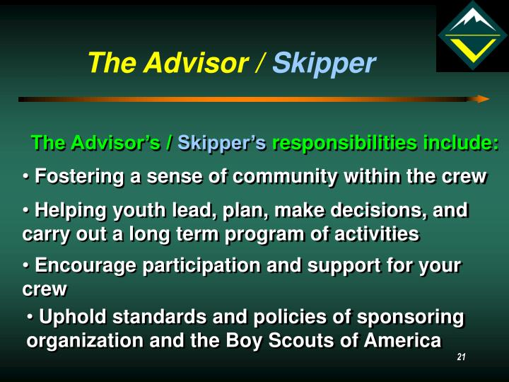 The Advisor /