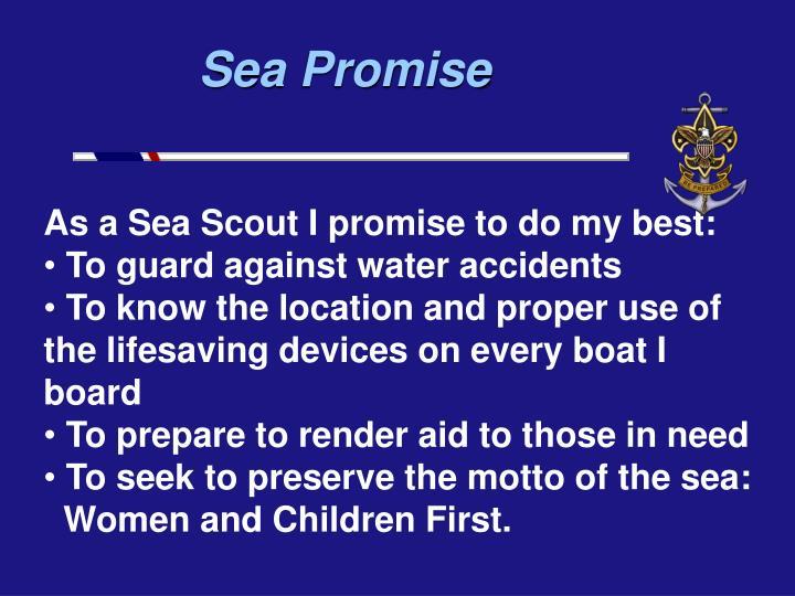 Sea Promise