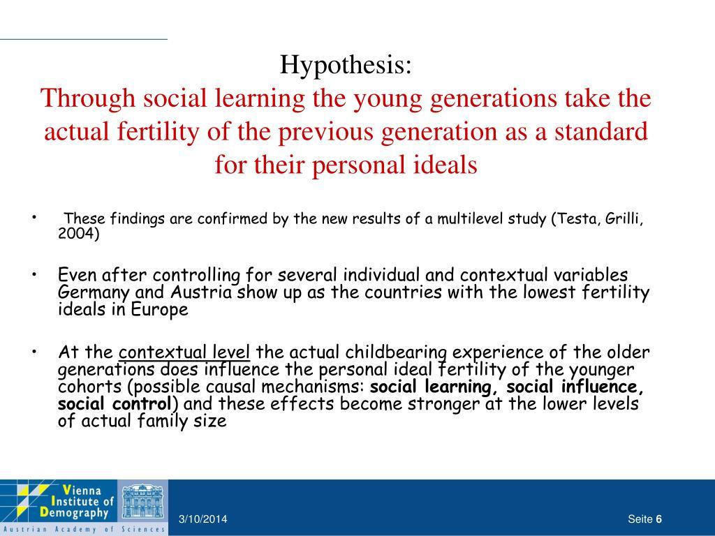 Hypothesis: