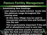 pasture fertility management32
