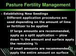 pasture fertility management33