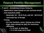 pasture fertility management36