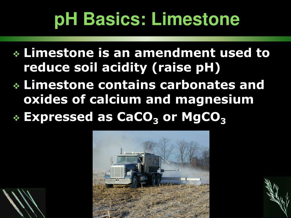 pH Basics: Limestone