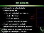 ph basics
