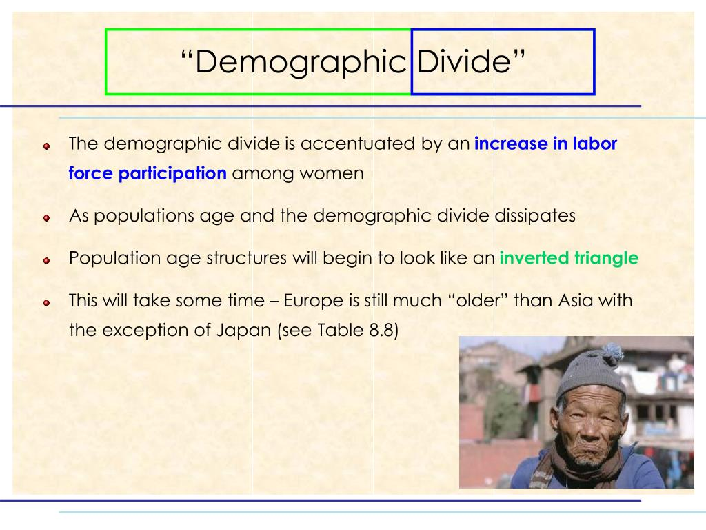 """Demographic Divide"""