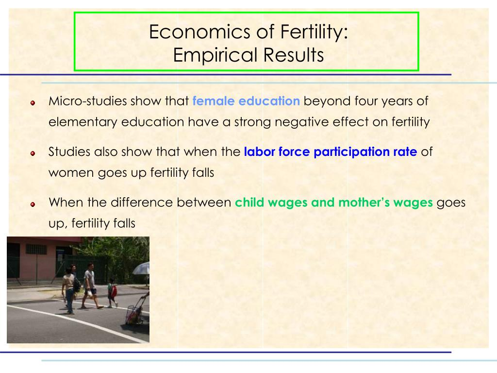 Economics of Fertility: