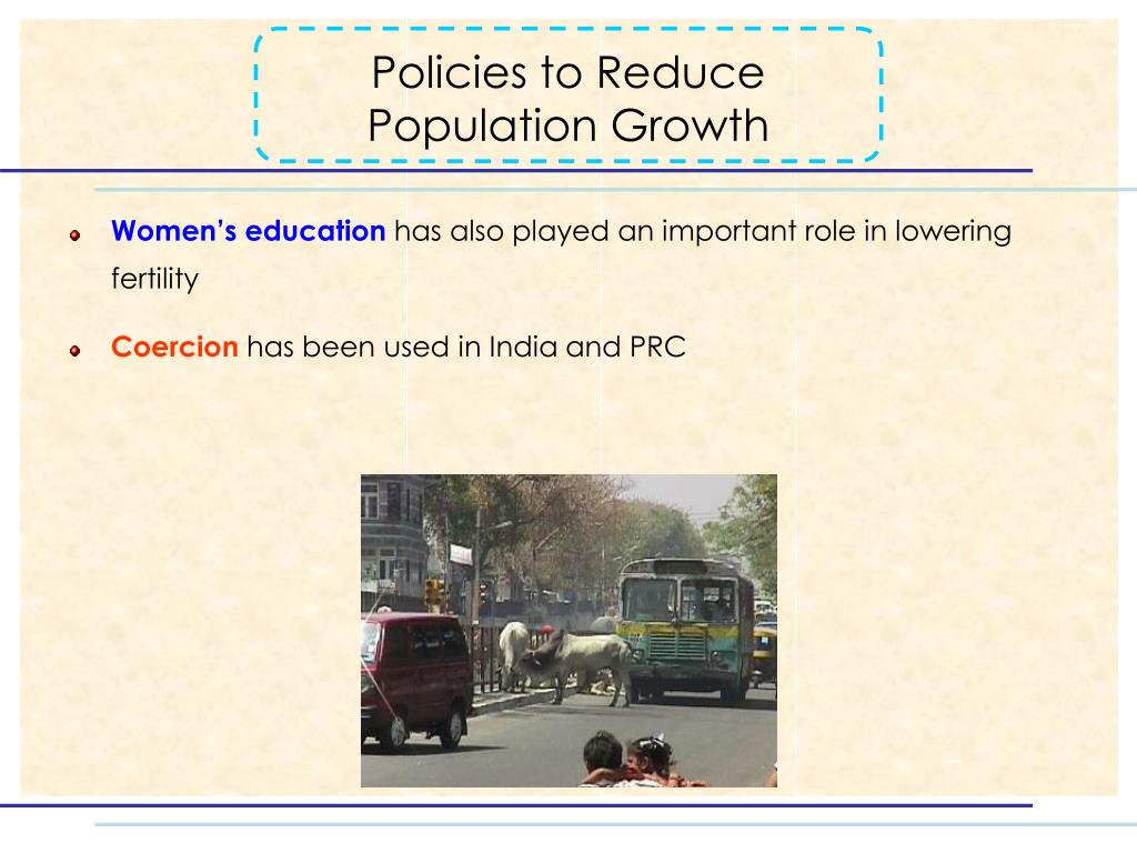 Policies to Reduce