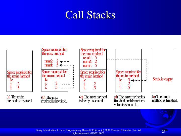Call Stacks