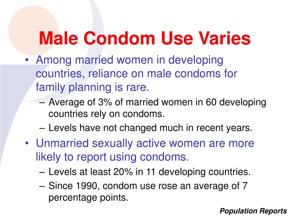 Male Condom Use Varies