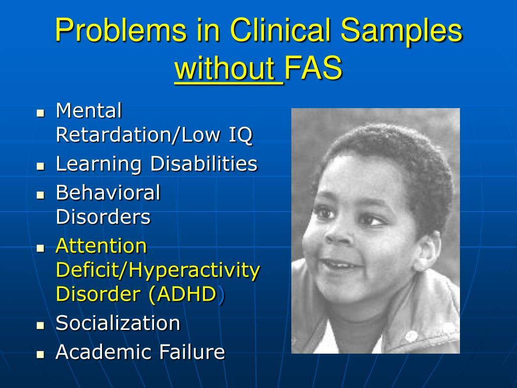 Mental Retardation/Low IQ