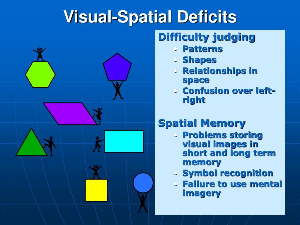 Visual-Spatial Deficits