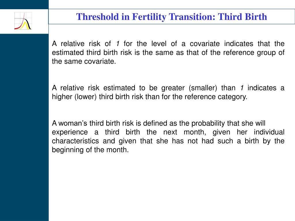 Threshold in Fertility Transition: Third Birth