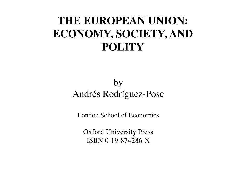 THE EUROPEAN UNION: