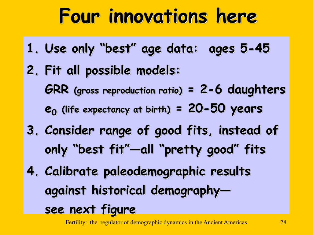 Four innovations here