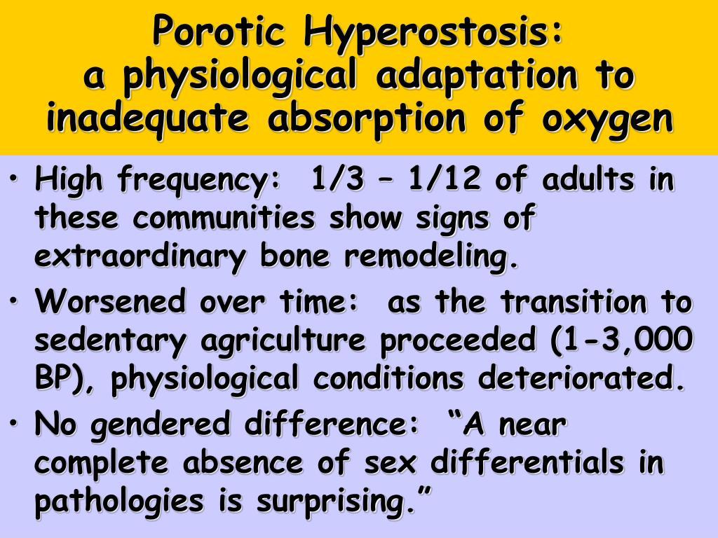 Porotic Hyperostosis: