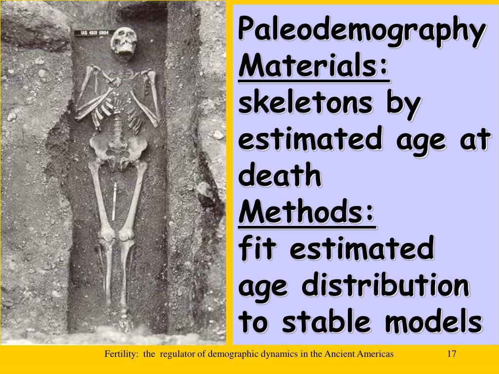 Paleodemography