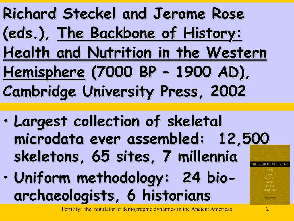 Richard Steckel and Jerome Rose (eds.),