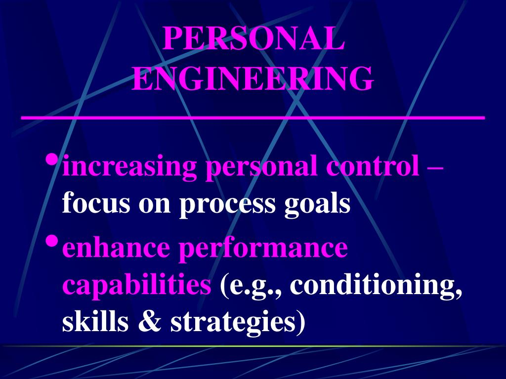 PERSONAL ENGINEERING