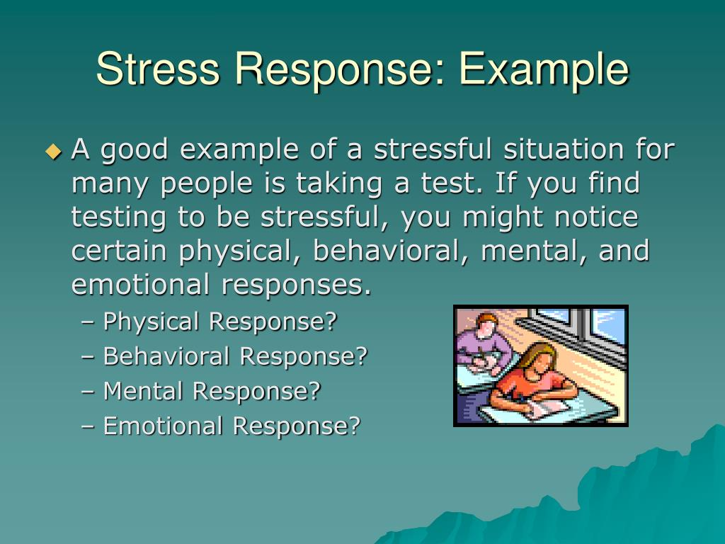Stress Response: Example
