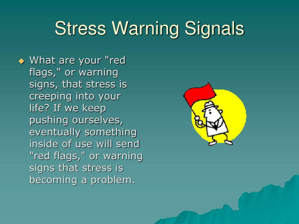 Stress Warning Signals