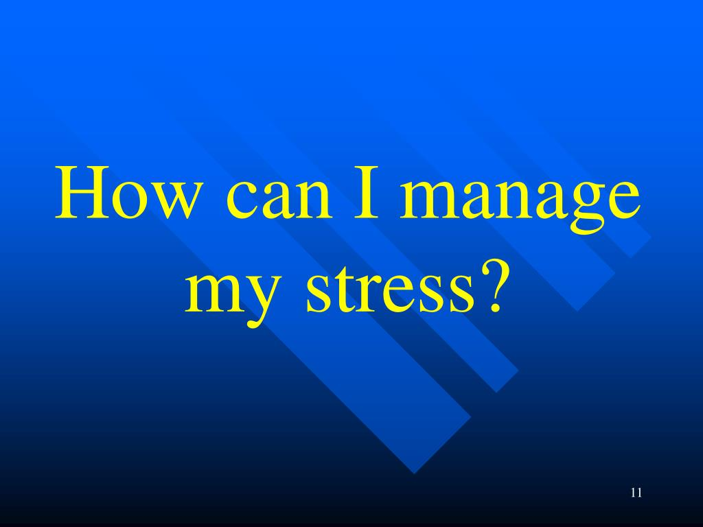 How can I manage