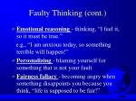 faulty thinking cont37
