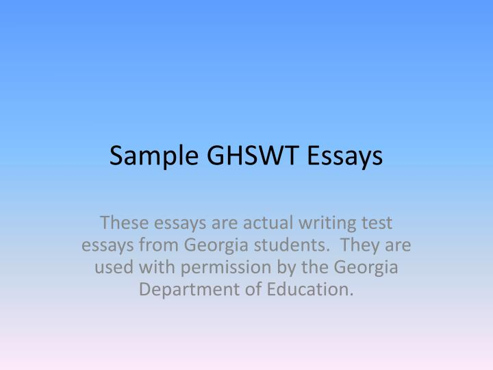 sample of an expository essay sample expository essay scribd