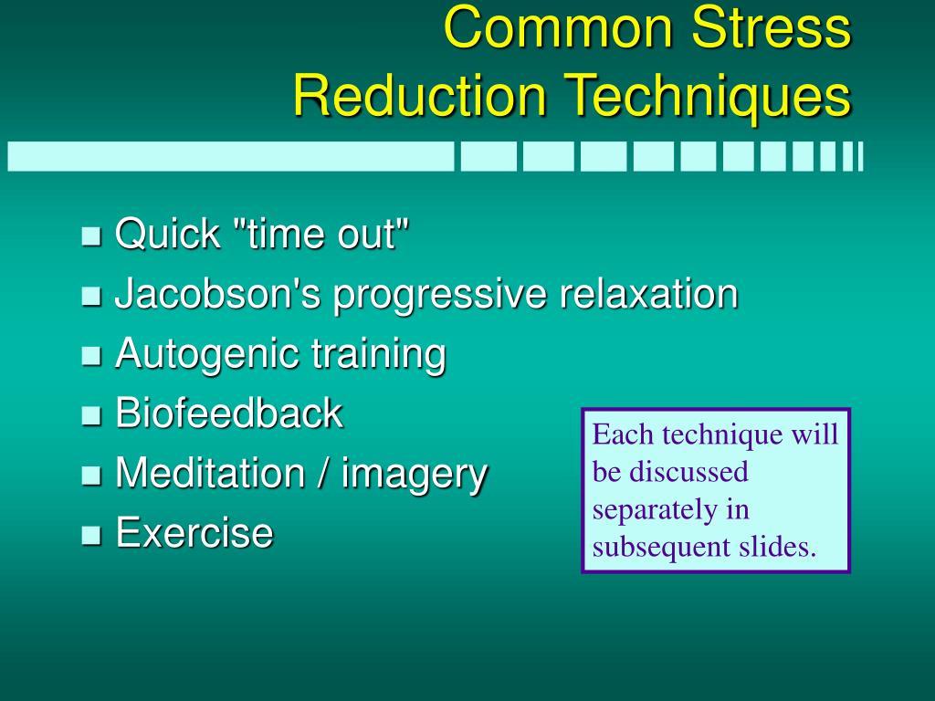 Common Stress