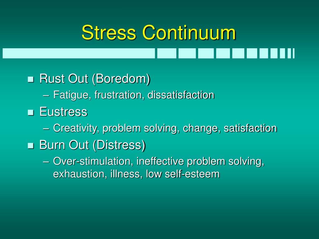 Stress Continuum
