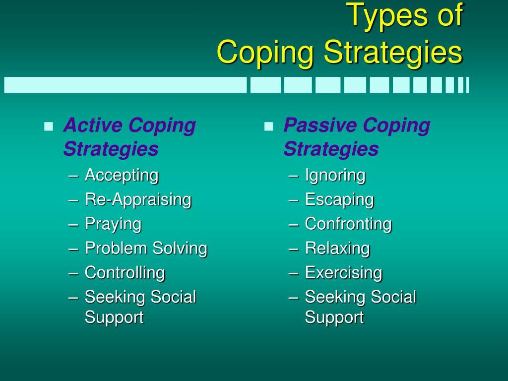 Active Coping Strategies