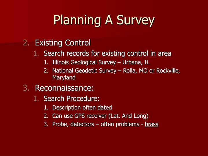 Planning A Survey