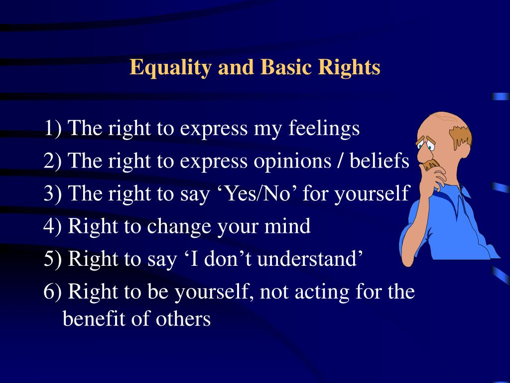 Equality and Basic Rights