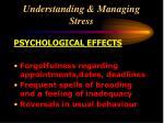 understanding managing stress24