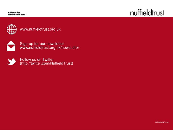 www.nuffieldtrust.org.uk