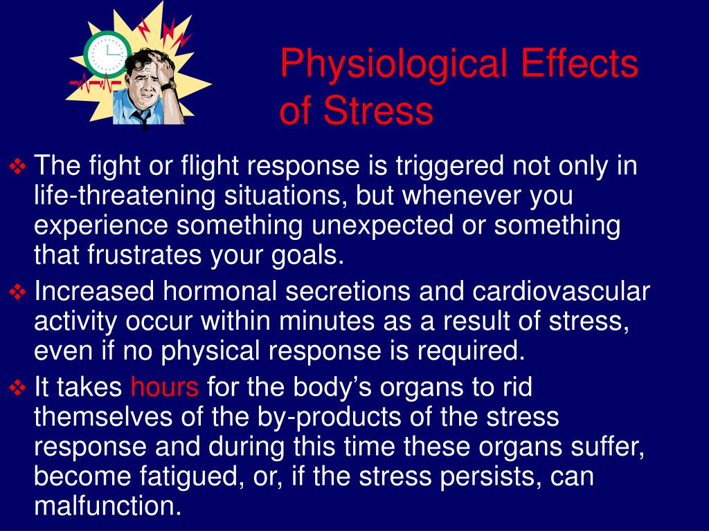 Physiological Effects of Stress