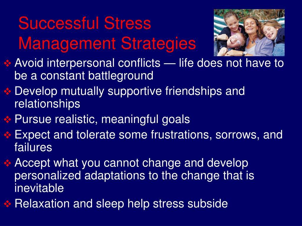 Successful Stress Management Strategies