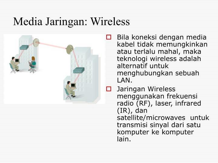 Media Jaringan: Wireless