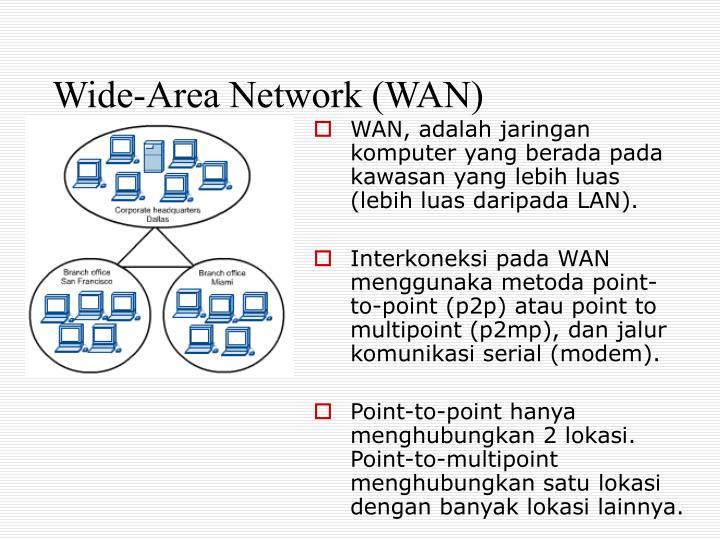 Wide-Area Network (WAN)