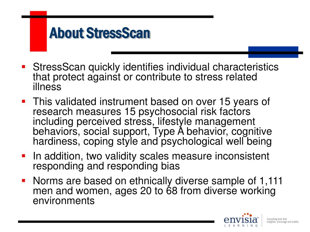 About StressScan