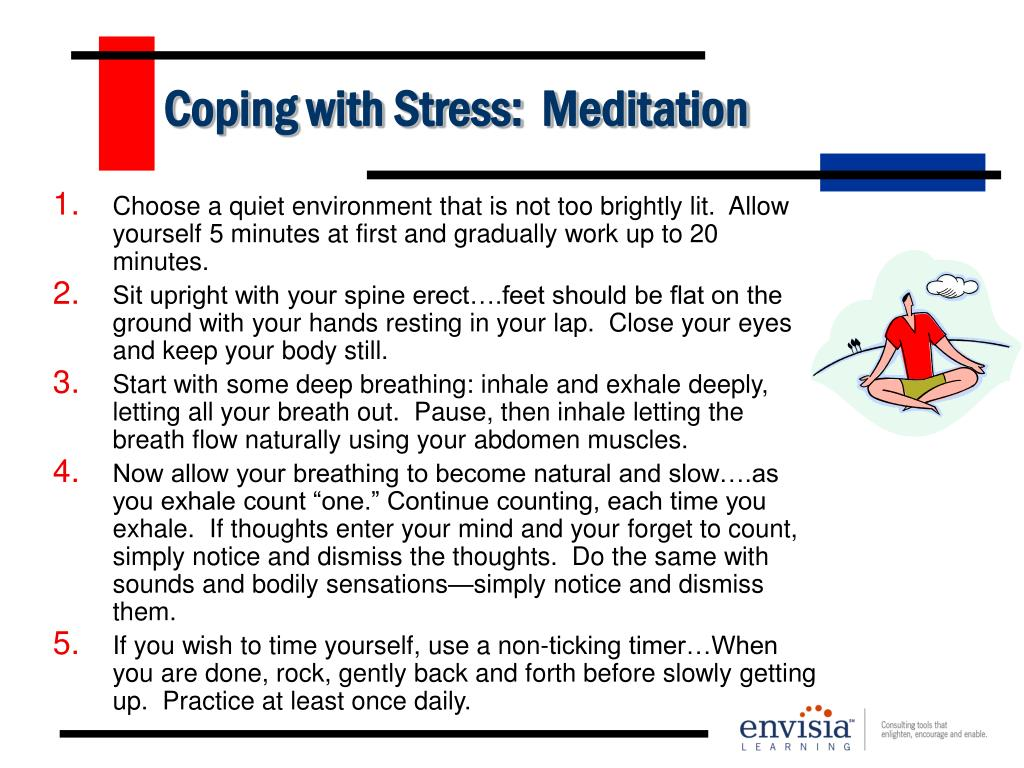 Coping with Stress:  Meditation