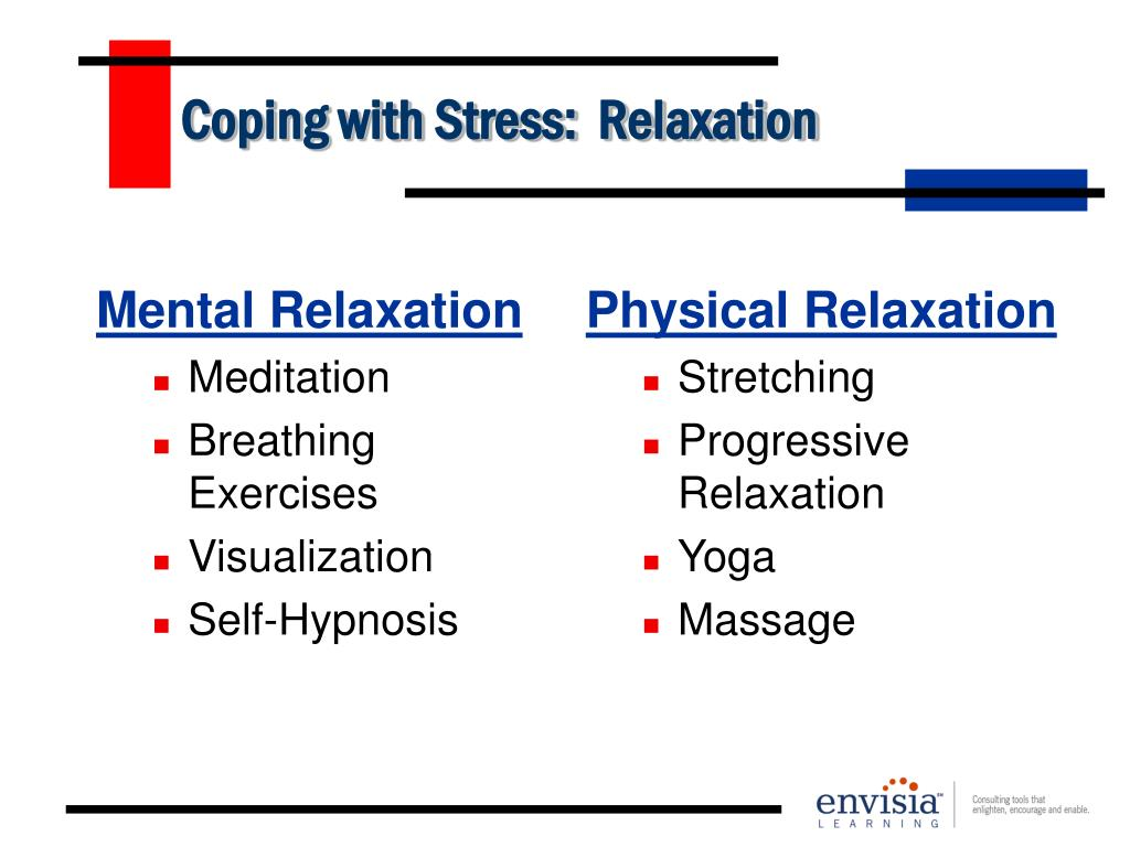 Coping with Stress:  Relaxation