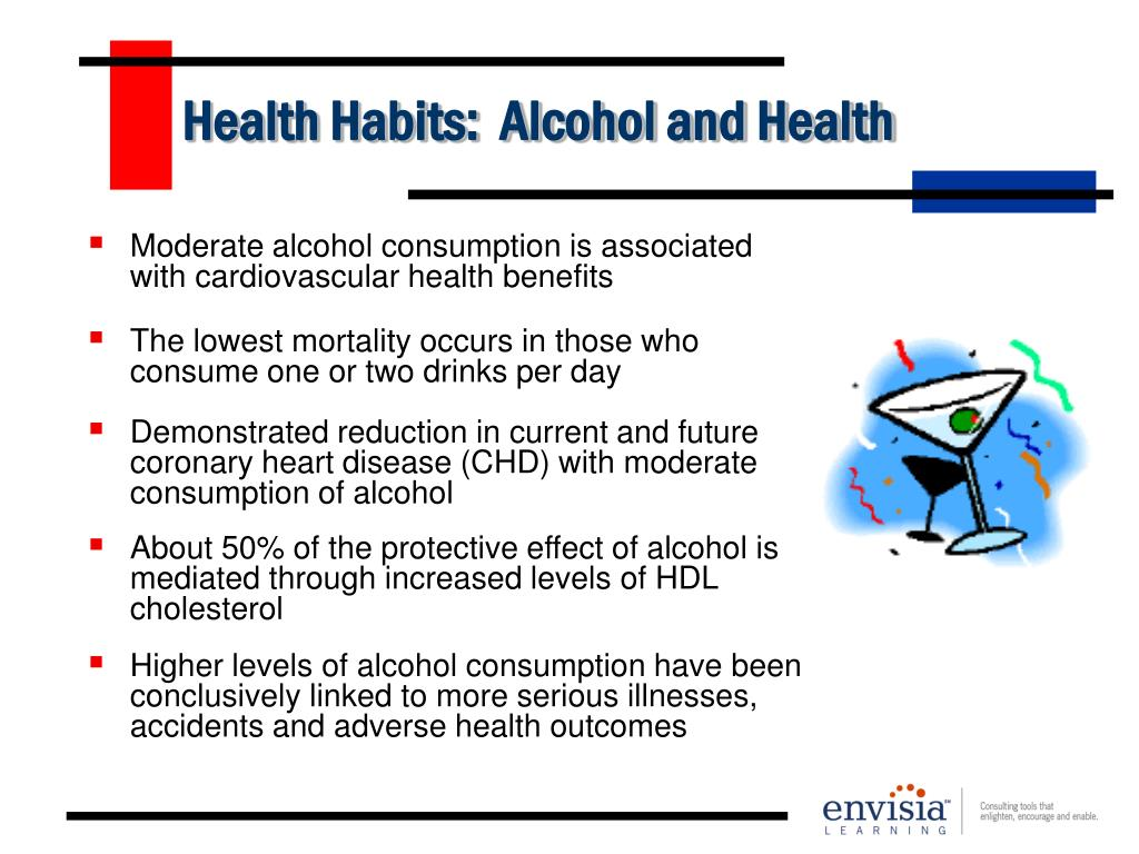 Health Habits:  Alcohol and Health