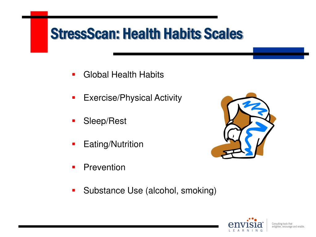 StressScan: Health Habits Scales