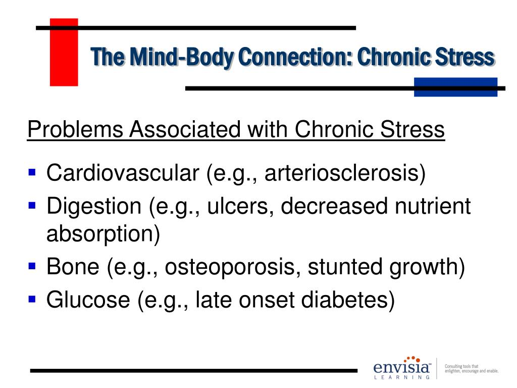 The Mind-Body Connection: Chronic Stress