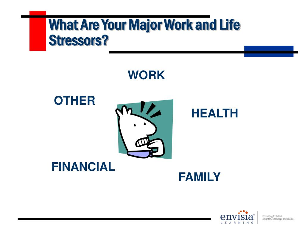 What Are Your Major Work and Life Stressors?